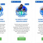 Slottica bonusları