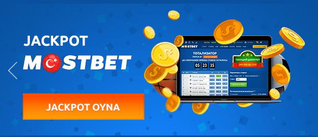 Mostbet'te jackpot kazanma imkanı